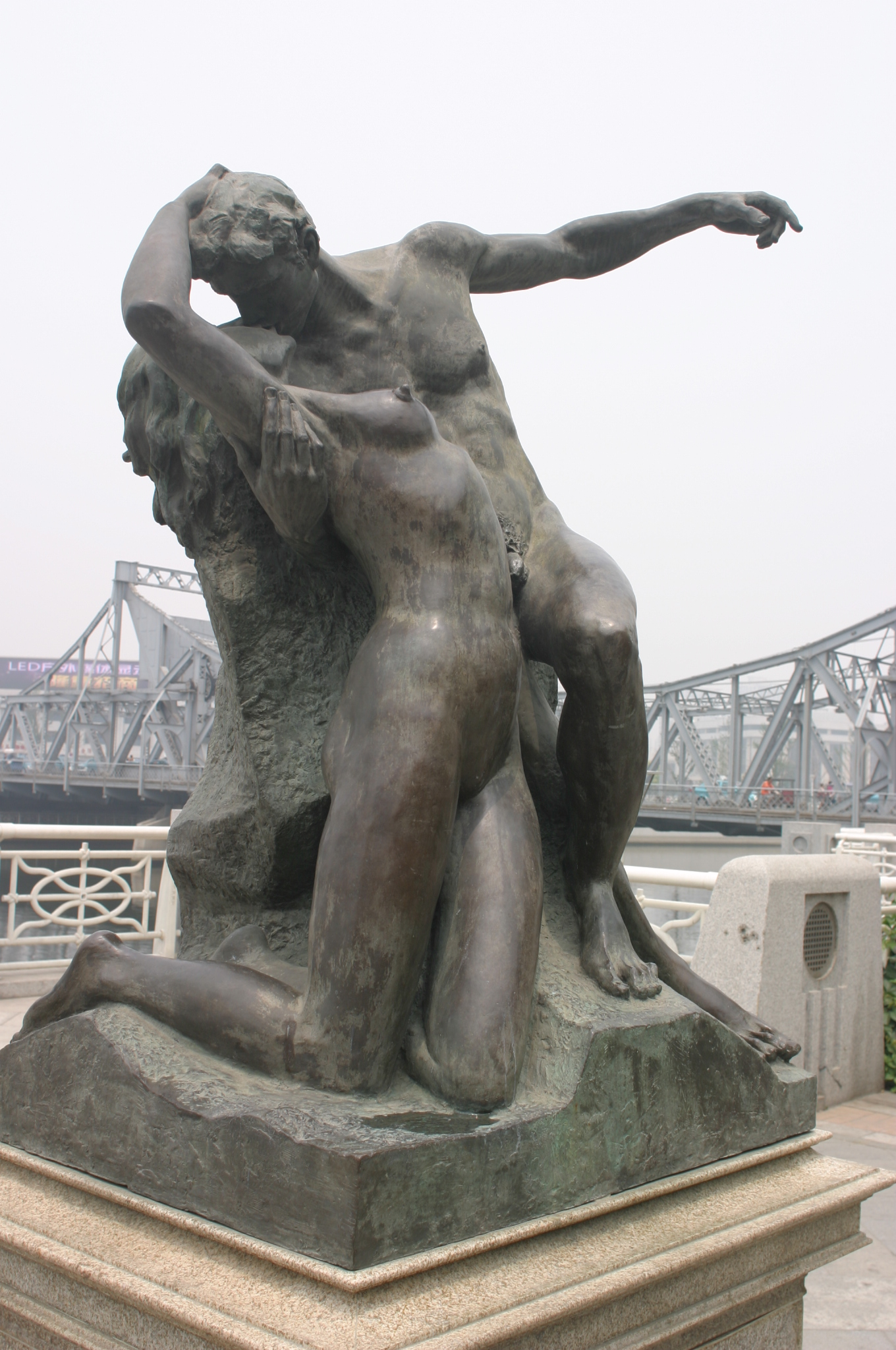 Sex with statues porn consider